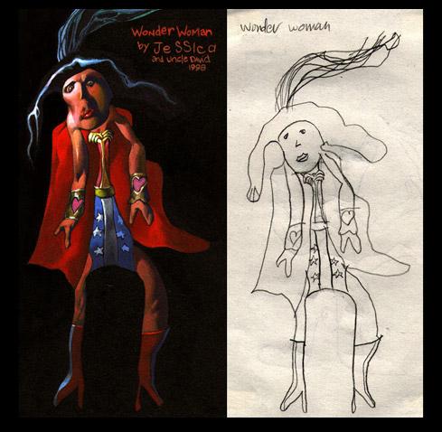 """Wonder Woman"" by Dave Devries"